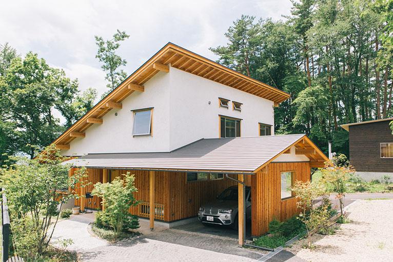 無垢デザインの家